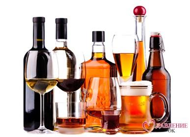 алкоголь в бутылках