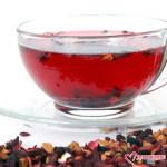 гружка с чаем каркаде